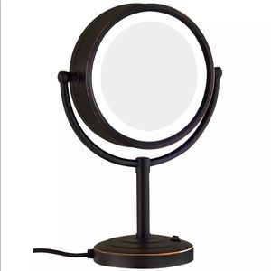 GURUN Vanity Lighted Magnifying Mirror Oil Bronze